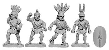 Oscan Javelinmen with Scutum (random 8 of 4 designs)