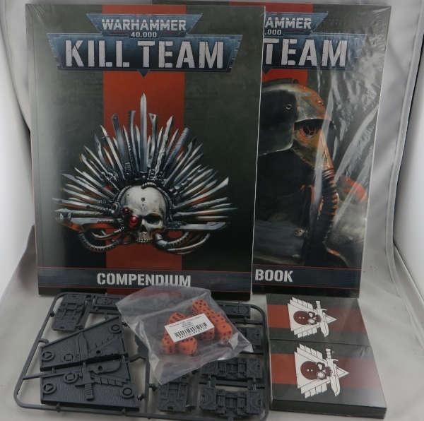 WH40K: Killteam Rules + Compendium + Accessories ENGLISCH