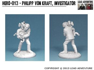 Philipp von Kraft, Investigator (1)