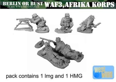 Africa Korps Light MG, Heavy MG