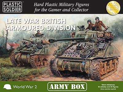 15mm: Late War British Armoured Division Army Box
