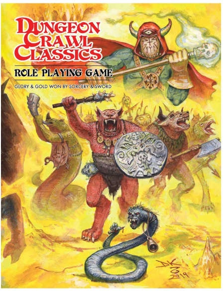 Dungeon Crawl Classics Softcover Beastman Edition - EN