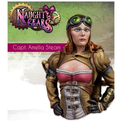 Captain Amelia Steam BUST