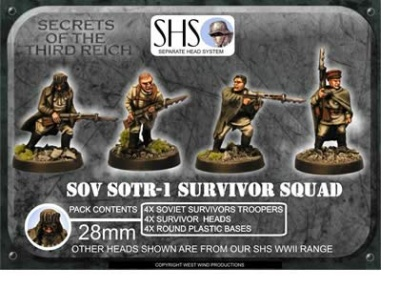 Survivor Squad (SHS) Mixed Heads (4)