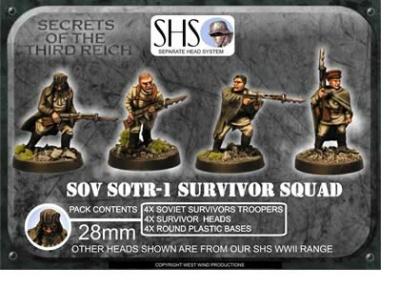 Survivor Squad (SHS) Mixed Heads (4)