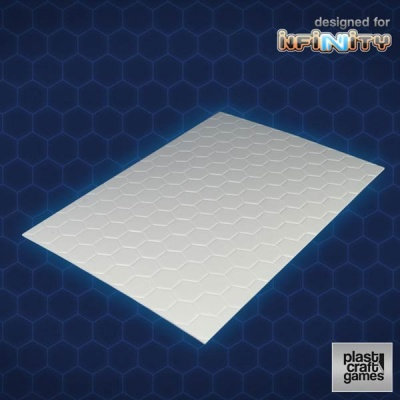 2mm hexagonal textured PVC sheet