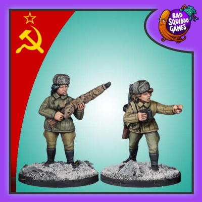 Female Soviet Sniper Team - Winter (2)