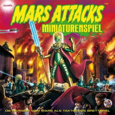 Mars Attacks- Miniaturenspiel