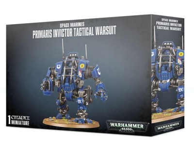 Space Marines PrimarisInvictor Tactical Warsuit