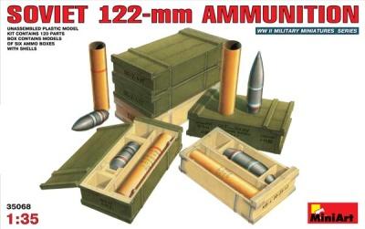 Sowjetische 122-mm Munition in 1:35