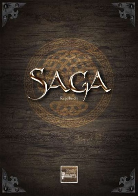 SAGA - 2. Edition Regelbuch (3. Aufl)  (DEUTSCH)
