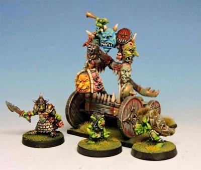Trebuchet complet + Goblin Crew