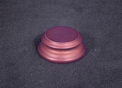 Runder Holzsockel (Durchmesser 34 mm)