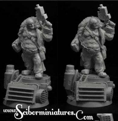 28mm SF Cossack Ogre #4 (1)