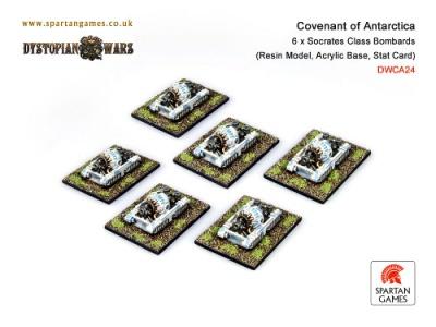 Covenant of Antarctica Socrates Class Bombard (6) (OOP)