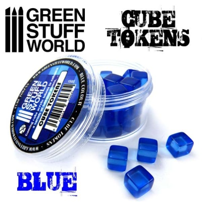 Green Cube tokens BLUE