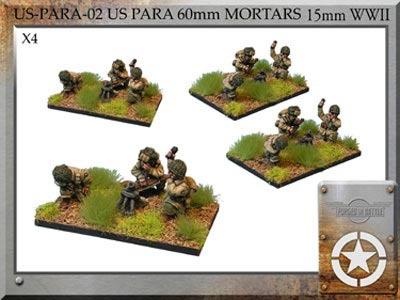 US Para 60mm mortar