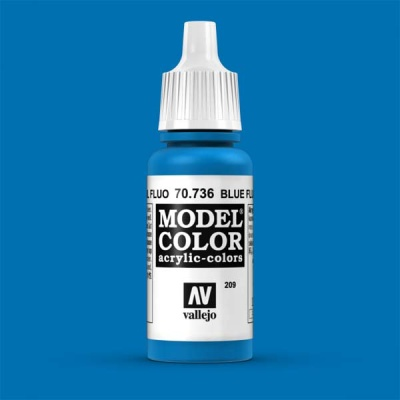 Model Color 209 Leuchtblau (Blue Fluo) (736)