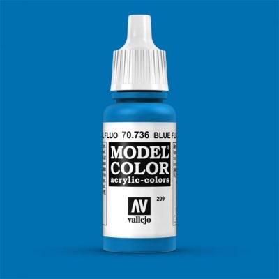 Model Color 209 Leuchtblau (Blue Fluo) (736)