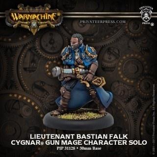 Cygnar Lieutenant Bastian Falk Solo