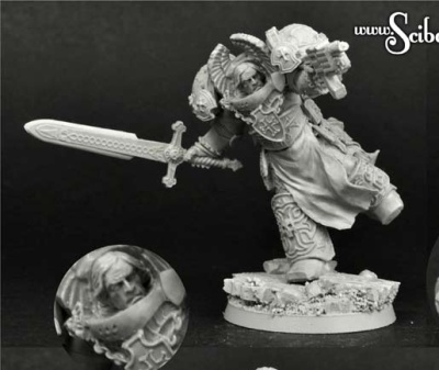 28mm Templar SF Knight #10