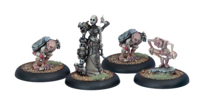 Cryx Necro-Surgeon & Stitch Thralls (4)