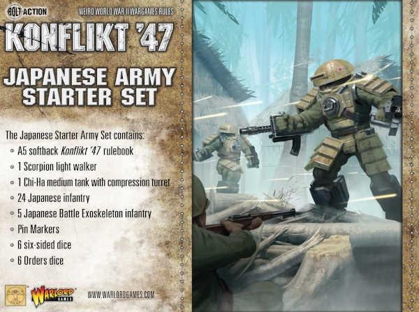 Japanese Konflikt '47 Starter Set