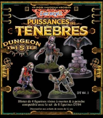 Dungeon Twister Zombies Set (4)