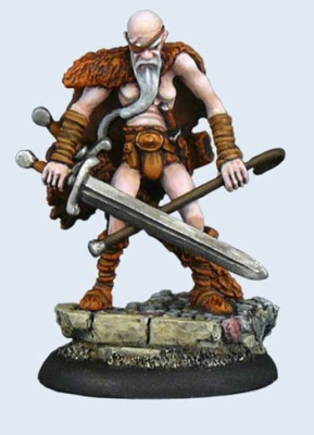 Discworld Miniature Cohen the Barbarian