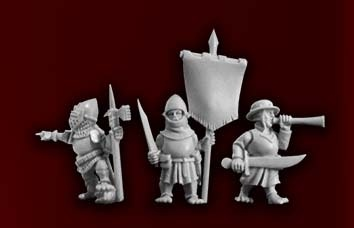 Halfling Infantry Command 1 (3)
