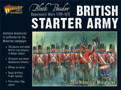 Napoleonic British Starter Army (Waterloo)