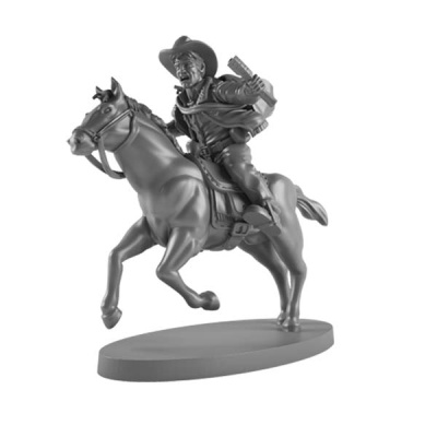 The Walking Dead: Rick (mounted) Booster