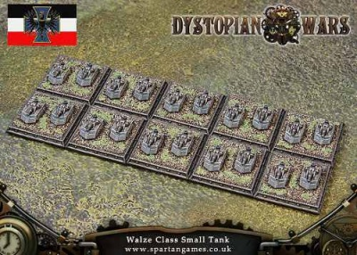 Prussian Empire Walze Class Small Tank (20) (OOP)