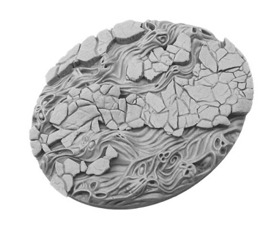 Spooky Bases, Oval 120mm (1)