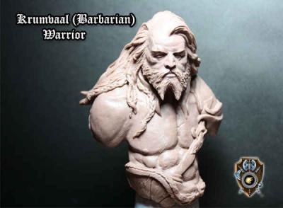 Krumvaal (Barbarian) Bust