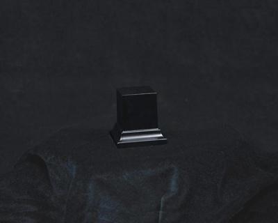 Wooden Base Black, 50x23x23mm