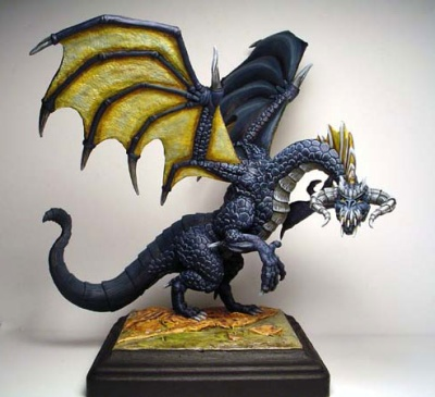 Large Black Dragon