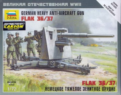 1:72 German 88mm Flak 36/37