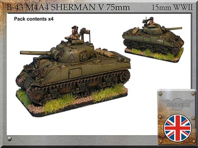 M4A4 Sherman V 75mm (4)