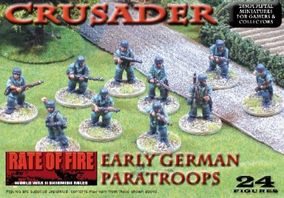 Crusader WWII: German Paratroops Box Set