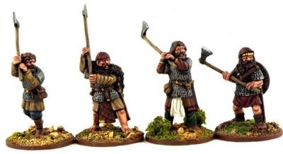 Norse Gael Hearthguards (4)