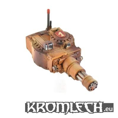 Panzer 38 Turret w Mega Gatling Cannon