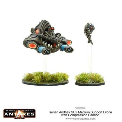 Isorian Andhak SC2 Medium Support Drone Compression Cannon