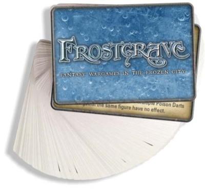 Frostgrave - Zauberkarten Deutsch
