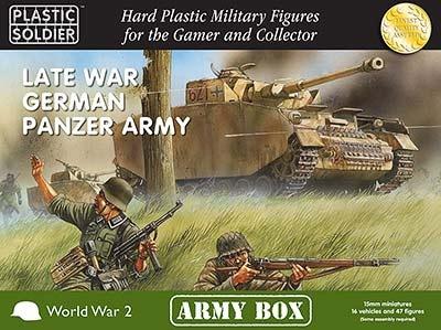 15mm: Late War German Panzer Army Box