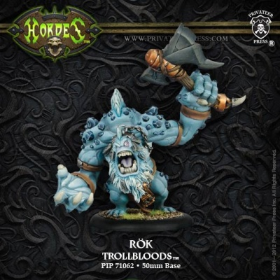 Trollblood Rök Dire Troll Heavy Warbeast Upgrade Kit