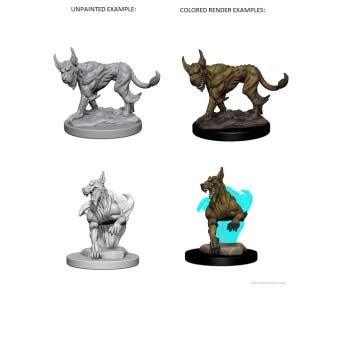 D&D: Blink Dogs (2)