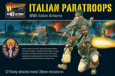 Bolt Action Italian Paras - Nembo Boxed Set (22)