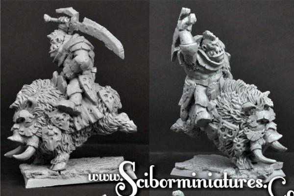 Orc Warrior on Boar #2
