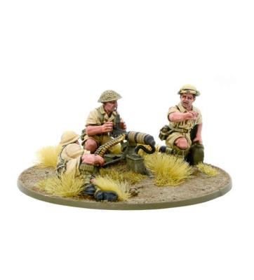 Britisch 8th Army MMG Team
